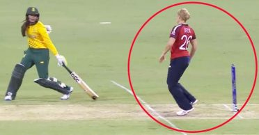 WATCH: England pacer Katherine Brunt refuses 'Mankad' run out in Women's T20 World Cup 2020