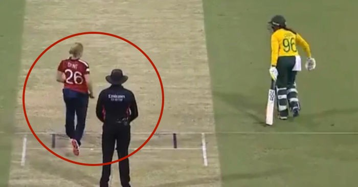 Cricket world erupts after Katherine Brunt's sporting act in Women's T20 World Cup... thumbnail