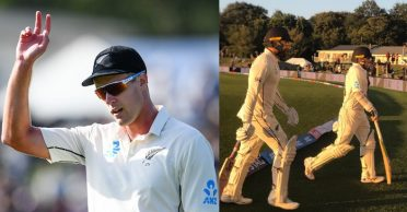 NZ vs IND: Kiwi openers stand tall after Kyle Jamieson's five-for on Day 1 of 2nd Test