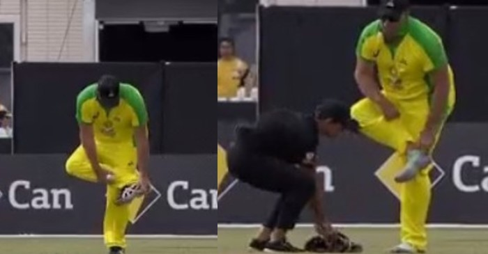 WATCH: Matthew Hayden bowls barefoot in Bushfire Cricket... - The Cricket Times