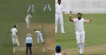 NZ XI vs IND: Mohammed Shami bowls peach of a delivery to dismiss James Neesham – WATCH
