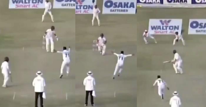 WATCH: Naseem Shah's maiden Test hat-trick against Bangladesh in Rawalpindi Test