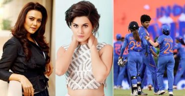 Preity Zinta, Taapsee Pannu cheers for India after they beat Bangladesh in Women's T20 World Cup