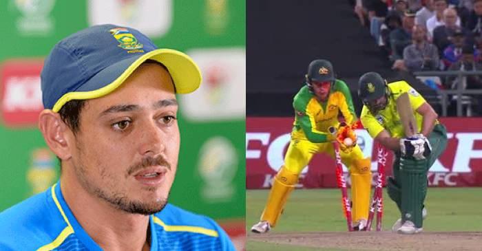 SA vs AUS: Quinton de Kock baffled by Proteas' poor performance in T20I series decider