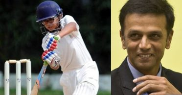 Rahul Dravid's son Samit slams another double century within two months