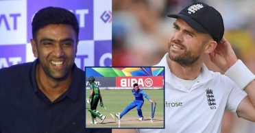 Ravichandran Ashwin reacts hilariously to James Anderson's request of removing 'Mankad' law from ICC