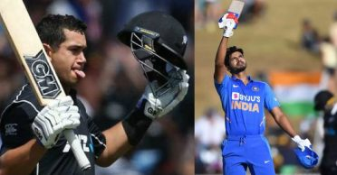 NZ vs IND: Sehwag, Pathan reacts after Ross Taylor's blistering knock outclasses Shreyas Iyer's maiden ton