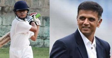 Rahul Dravid's son Samit carries on his purple patch in U-14 cricket, slams another hundred