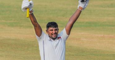 Sarfaraz Khan slams third century in Ranji Trophy; crosses 900 runs in the present season