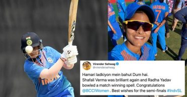 Women's T20 World Cup: Sehwag, Laxman and others congratulate Team India on topping the group