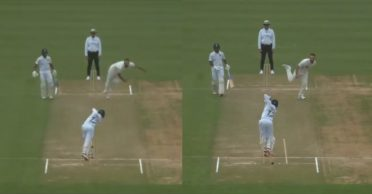 NZ XI vs IND: Daryll Mitchell sends Prithvi Shaw's middle stump out for a walk – WATCH