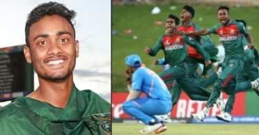 """""""Wanted to give it back to the Indians"""": Shoriful Islam on ICC U19 World Cup final win"""
