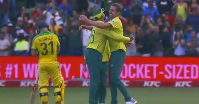 South Africa beat Australia by 12 runs