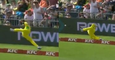 WATCH: Steve Smith's 'Superman' effort to save a certain six during 2nd T20I vs South Africa