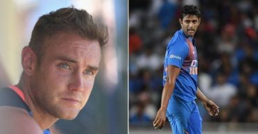 NZ vs IND: Stuart Broad responds to ICC's post on Shivam Dube conceding 34 runs in an over