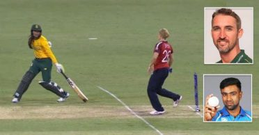 Jason Gillespie, R Ashwin react after England's Katherine Brunt doesn't execute 'Mankad' run out in Women's T20 World Cup