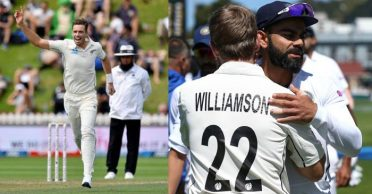 NZ vs IND: Tim Southee, Trent Boult rips through India as hosts win their 100th Test