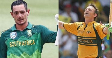 SA vs ENG: Quinton de Kock equals Adam Gilchrist's record in Cape Town ODI