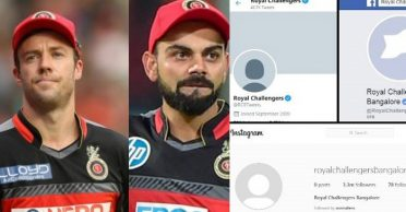 IPL 2020: Virat Kohli, AB de Villers reacts after RCB deletes profile and cover pictures from social media