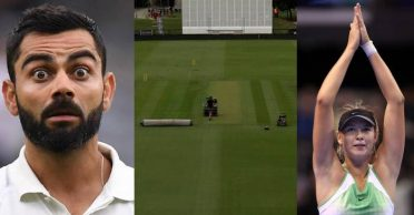 NZ vs IND: 'Fitting tribute to Maria Sharapova' – Fans come up with hilarious captions to the Christchurch pitch