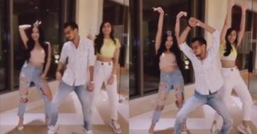 Yuzvendra Chahal's hilarious dance moves with Rameet Sandhu and Elixir Nahar goes viral – WATCH