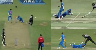 NZ vs IND: WATCH – KL Rahul's brilliance to run-out Tom Bruce in the 5th T20I