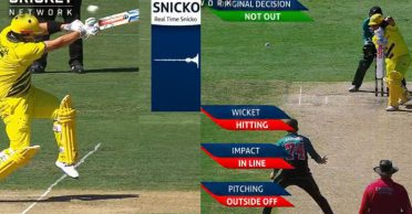 WATCH: New Zealand makes two DRS blunders during Australia innings in Sydney ODI