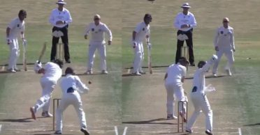 WATCH: Auckland keeper Ben Horne takes stunning one-hand reflex catch in Plunket Shield