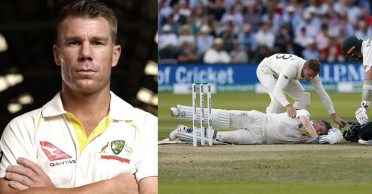 David Warner reveals what happened in the dressing room after Steve Smith got hit on the head during Ashes 2019