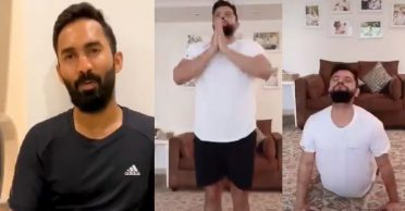 WATCH: This is how Dinesh Karthik, Suresh Raina are dealing with social distancing amid coronavirus outbreak