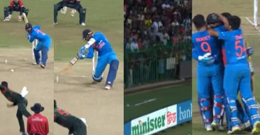 WATCH: When Dinesh Karthik's blitz handed India the Nidahas Trophy