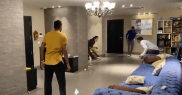 WATCH: Hardik Pandya, Krunal Pandya play indoor cricket amid Coronavirus pandemic