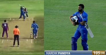 WATCH: Hardik Pandya smashes a 37-ball century in DY Patil T20 Cup