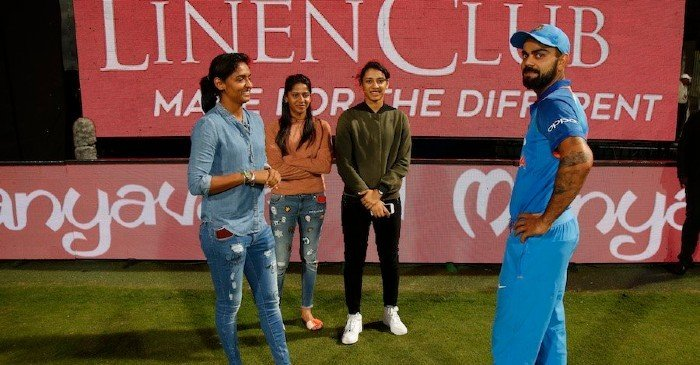 'What were you talking to, Kohli?' Harmanpreet Kaur responds to the fan's query