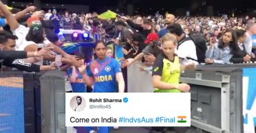 Cricketing world erupts as India are facing Australia in the Women's T20 World Cup 2020 final