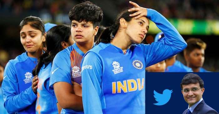 India Women Cricket Team, Sourav Ganguly reaction on Twitter