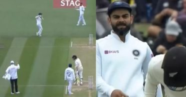 NZ vs IND: Umpire warns Virat Kohli and Co. for using deceitful tactics on Day 2 of second Test