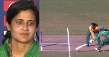 'Such mode of dismissal should be excluded from cricket': Javeria Khan after getting out at non-striker's end