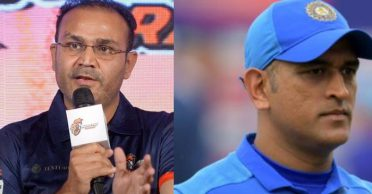 Virender Sehwag critical on MS Dhoni's place in the Indian team