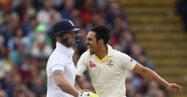 Mitchell Johnson takes a jibe at Ben Stokes and Co. post fist pump agreement of England team