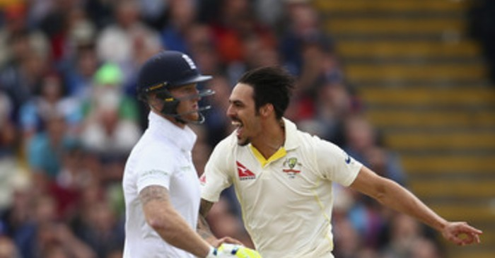 Mitchell Johnson and Ben Stokes