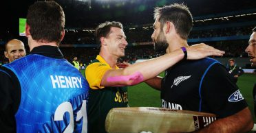 ICC shares the video of Grant Elliott's six off Dale Steyn in 2015 World Cup semi-final