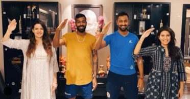 WATCH: Pandya family salutes to all the medical staff and other emergency personnel fighting coronavirus
