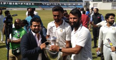 Saurashtra lifts the first Ranji Trophy title after 73 years