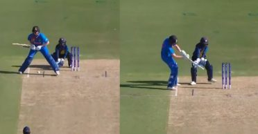 WATCH: Shafali Verma goes behind the stumps to smash a boundary in Women's T20 World Cup