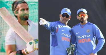 Shahid Kapoor gives an epic reply when asked to pick between MS Dhoni and Virat Kohli