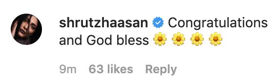 Shruti Haasan instagram