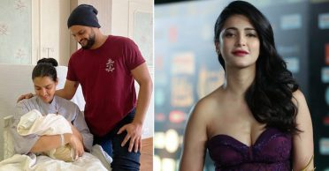 Actress Shruti Haasan congratulate Suresh Raina on being blessed with a baby boy