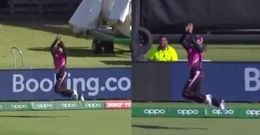 WATCH: Suzie Bates takes stunning catch to dismiss Beth Mooney in Women's T20 World Cup clash