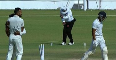 Reason why a single umpire is officiating from both ends in the Ranji Trophy final